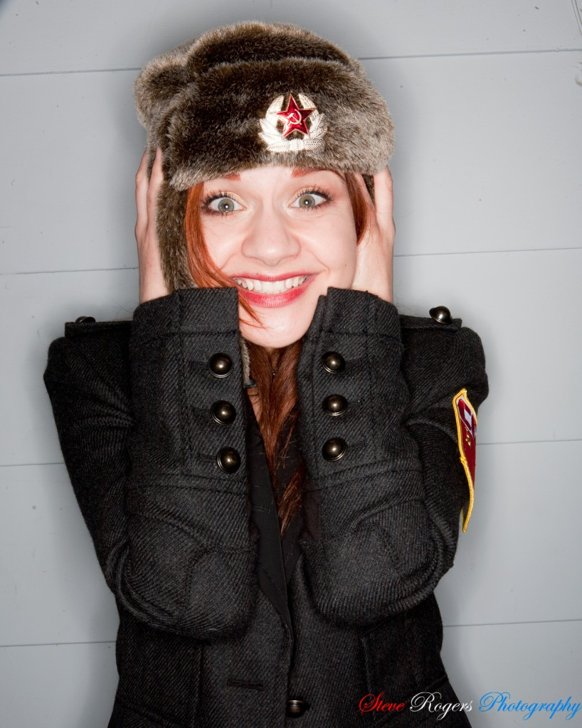 Jen Blair, Jennifer Blair, Steve Rogers Photography, Anna Chapman, Fur, Fur Hat, Russia, Commie, Jackets