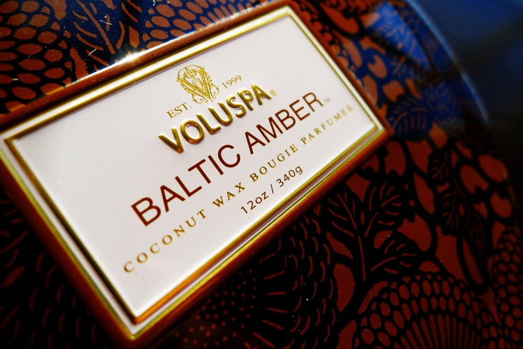Voluspa, Candle, Home, Amber, Fragrance