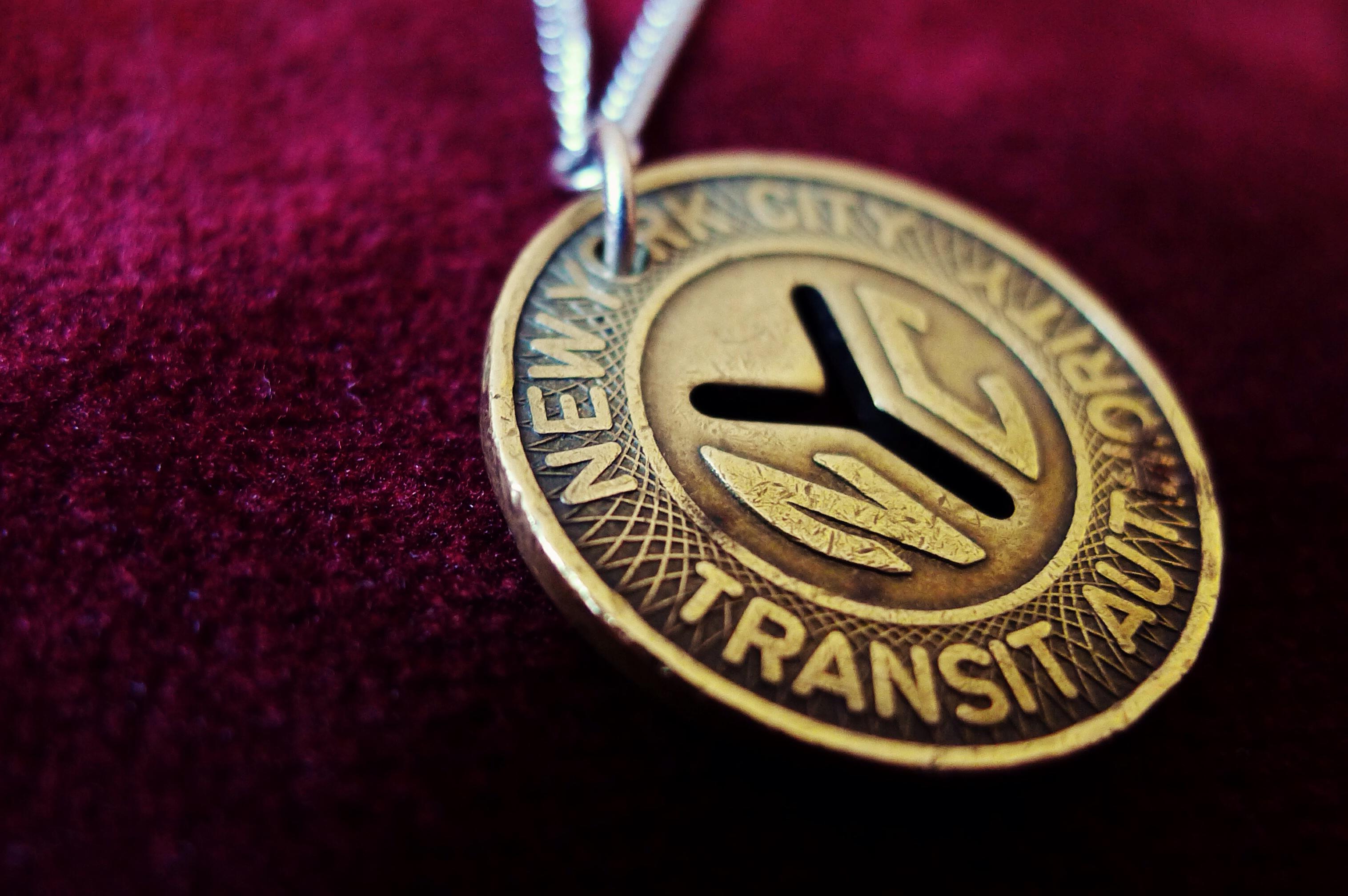 Thea Grant, MTA, MTA Token, Subway Token, NYC Subway Token